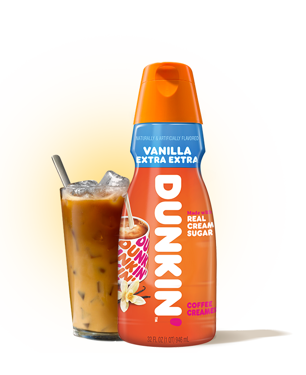 Dunkin'® Vanilla Extra Extra Creamer